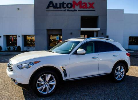 2015 Infiniti QX70 for sale at AutoMax of Memphis - Ralph Hawkins in Memphis TN