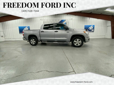 2016 Toyota Tundra for sale at Freedom Ford Inc in Gunnison UT