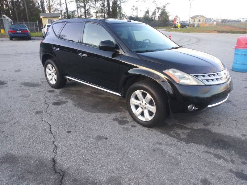 2007 Nissan Murano for sale at Magwood Auto Dealers LLC in Jonesboro GA