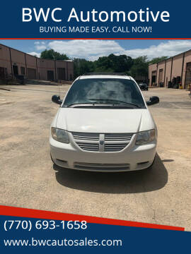 2005 Dodge Grand Caravan for sale at BWC Automotive in Kennesaw GA