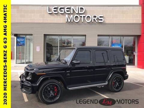 2020 Mercedes-Benz G-Class for sale at Legend Motors of Detroit - Legend Motors of Waterford in Waterford MI