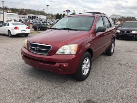 2006 Kia Sorento for sale at Hillside Motors Inc. in Hickory NC