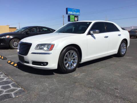 2012 Chrysler 300 for sale at SPEND-LESS AUTO in Kingman AZ