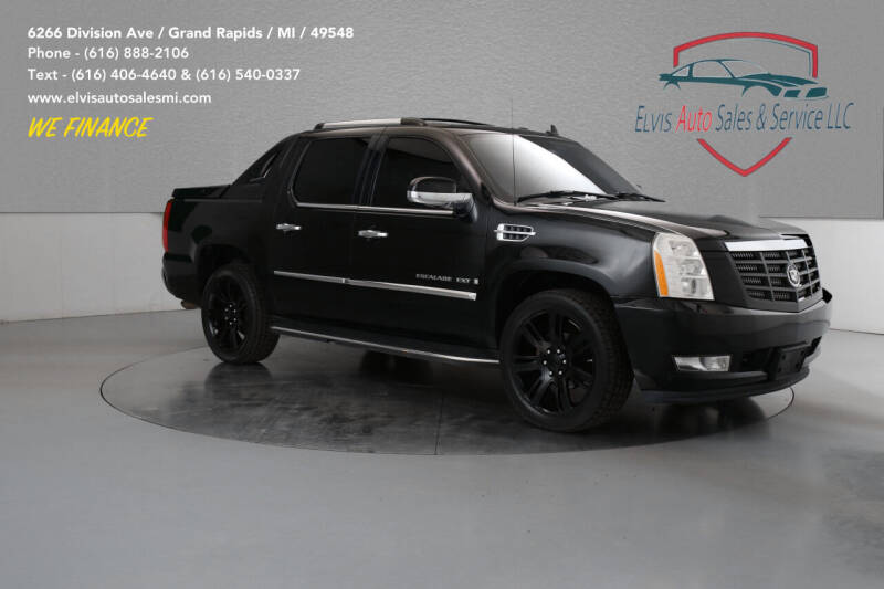 2007 Cadillac Escalade EXT for sale at Elvis Auto Sales LLC in Grand Rapids MI