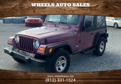 2005 Jeep Wrangler for sale at Wheels Auto Sales in Bloomington IN