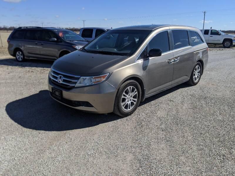 2012 Honda Odyssey for sale at Halstead Motors LLC in Halstead KS