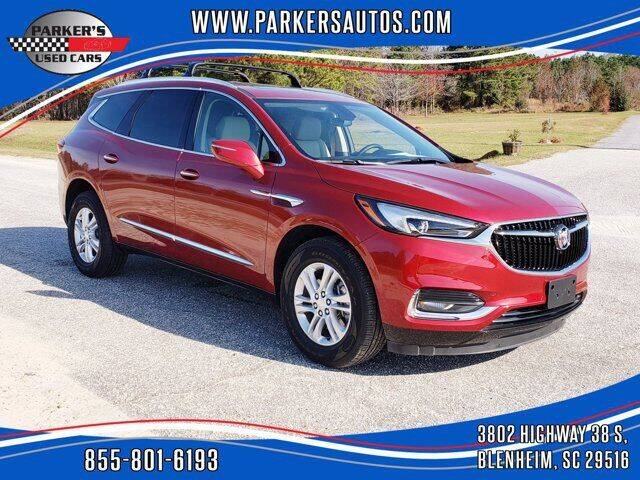 2019 Buick Enclave for sale at Parker's Used Cars in Blenheim SC