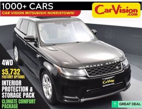 2018 Land Rover Range Rover Sport for sale at Car Vision Buying Center in Norristown PA