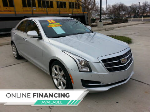 2016 Cadillac ATS for sale at Super Cars Sales Inc #1 - Super Auto Sales Inc #2 in Modesto CA