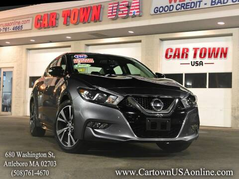 2017 Nissan Maxima for sale at Car Town USA in Attleboro MA