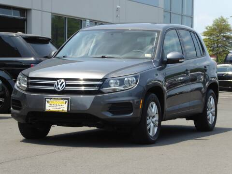 2012 Volkswagen Tiguan for sale at Loudoun Used Cars - LOUDOUN MOTOR CARS in Chantilly VA