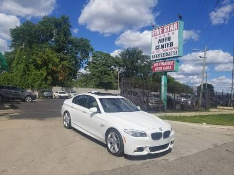 2012 BMW 5 Series for sale at Five Star Auto Center in Detroit MI