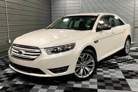 2017 Ford Taurus for sale at TRUST AUTO in Sykesville MD