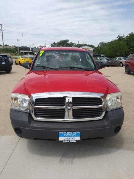 2007 Dodge Dakota for sale at Arak Auto Group in Bourbonnais IL