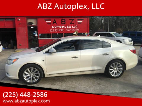 2012 Buick LaCrosse for sale at ABZ Autoplex, LLC in Baton Rouge LA