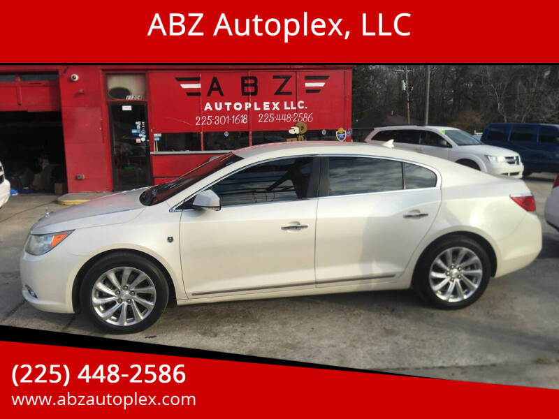 2012 Buick LaCrosse for sale at ABZ Autoplex, LLC in Baton Rouge LA