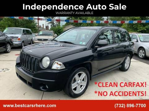2008 Jeep Compass for sale at Independence Auto Sale in Bordentown NJ