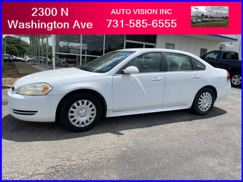 2010 Chevrolet Impala for sale at Auto Vision Inc. in Brownsville TN