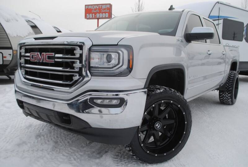 2016 GMC Sierra 1500 for sale at Frontier Auto & RV Sales in Anchorage AK