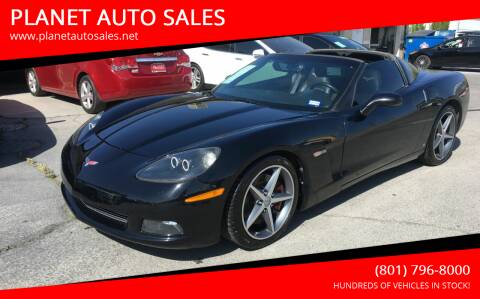 2007 Chevrolet Corvette for sale at PLANET AUTO SALES in Lindon UT