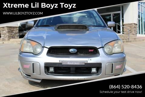 2005 Subaru Impreza for sale at Xtreme Lil Boyz Toyz in Greenville SC