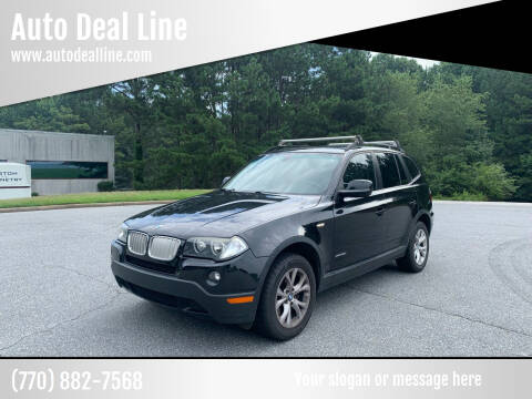 2010 BMW X3 for sale at Auto Deal Line in Alpharetta GA