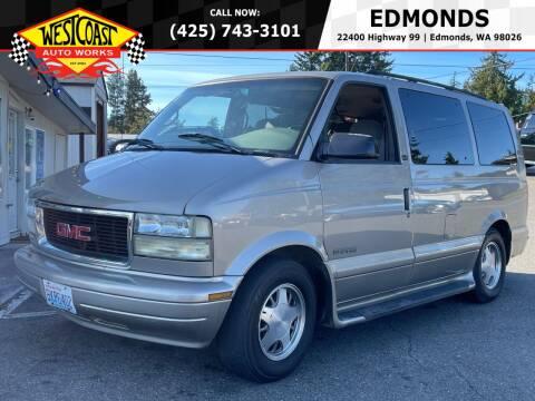 2002 GMC Safari for sale at West Coast Auto Works in Edmonds WA