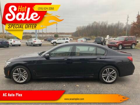 2017 BMW 7 Series for sale at AC Auto Plex in Ontario NY
