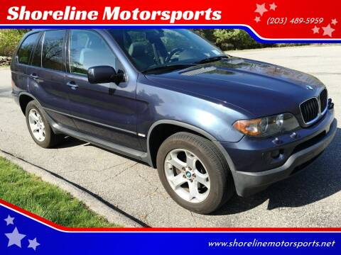 2005 BMW X5 for sale at Shoreline Motorsports in Waterbury CT