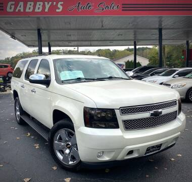 2008 Chevrolet Suburban for sale at GABBY'S AUTO SALES in Valparaiso IN
