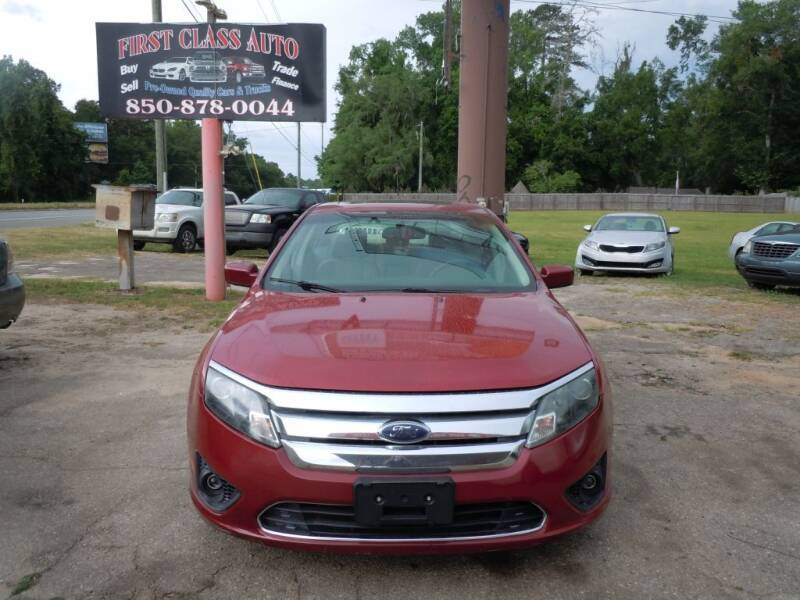 2010 Ford Fusion for sale at First Class Auto Inc in Tallahassee FL