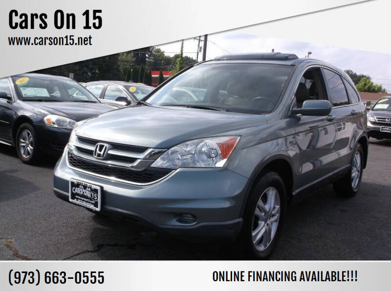 2011 Honda CR-V for sale at Cars On 15 in Lake Hopatcong NJ