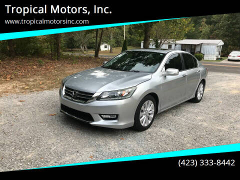 2014 Honda Accord for sale at Tropical Motors, Inc. in Riceville TN