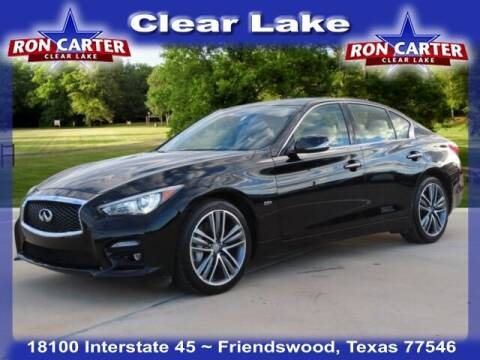 2017 Infiniti Q50 for sale at Ron Carter  Clear Lake Used Cars in Houston TX
