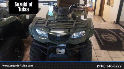 2019 Suzuki KING QUAD 400 for sale at Suzuki of Tulsa in Tulsa OK