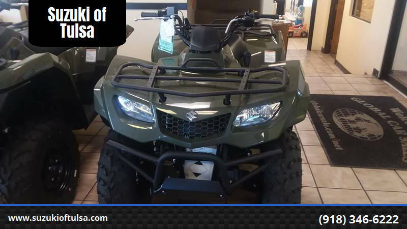 2019 Suzuki KING QUAD 400 for sale at Suzuki of Tulsa in Tulsa OK