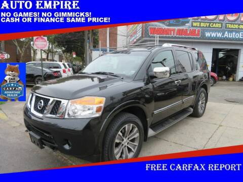 2015 Nissan Armada for sale at Auto Empire in Brooklyn NY