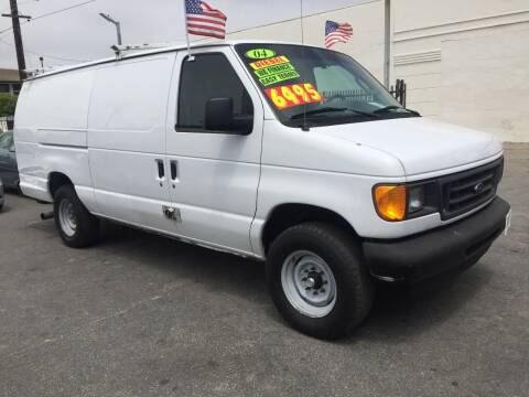 2004 Ford E-Series Cargo for sale at Oxnard Auto Brokers in Oxnard CA