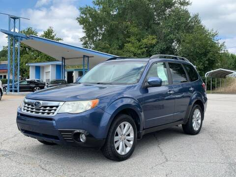 2012 Subaru Forester for sale at GR Motor Company in Garner NC