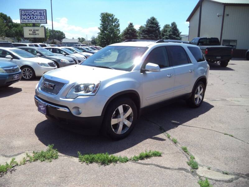 2012 GMC Acadia for sale at Budget Motors - Budget Acceptance in Sioux City IA