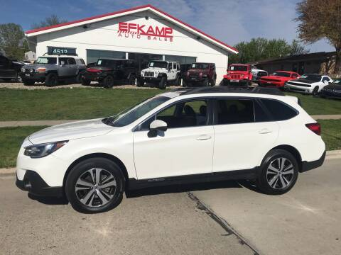 2019 Subaru Outback for sale at Efkamp Auto Sales LLC in Des Moines IA