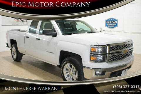 2014 Chevrolet Silverado 1500 for sale at Epic Motor Company in Chantilly VA