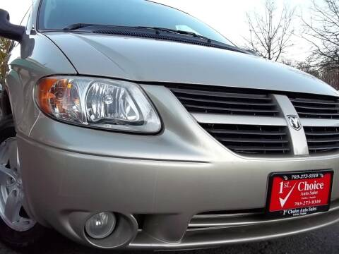 2005 Dodge Grand Caravan for sale at 1st Choice Auto Sales in Fairfax VA