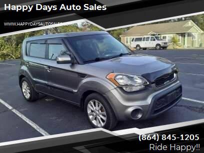 2013 Kia Soul for sale at Happy Days Auto Sales in Piedmont SC