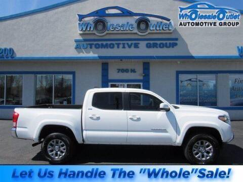 2017 Toyota Tacoma for sale at The Wholesale Outlet in Blackwood NJ