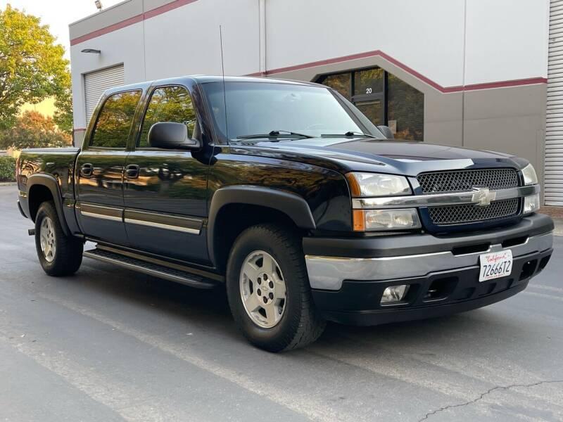 2005 Chevrolet Silverado 1500 for sale at COUNTY AUTO SALES in Rocklin CA