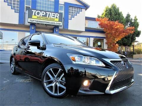 2017 Lexus CT 200h for sale at Top Tier Motorcars in San Jose CA