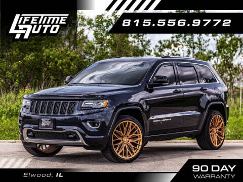 2014 Jeep Grand Cherokee for sale at Lifetime Auto in Elwood IL