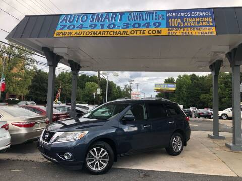 2015 Nissan Pathfinder for sale at Auto Smart Charlotte in Charlotte NC