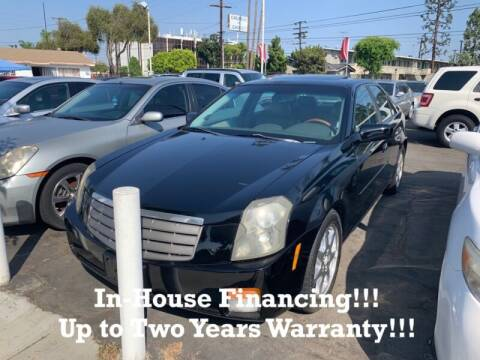 2003 Cadillac CTS for sale at Sidney Auto Sales in Downey CA